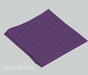 Set of 12 pc Striped Cloth Linen Napkin 100% Egyptian Cotton All Sizes & Colors