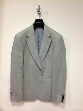 REMUS UOMO® Linen Sb1 Jacket/Ice Sliver Grey - 40R (Slim Fit)