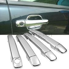 Triple Chrome Side Door Handle Cover Trim for Benz W163 ML320 ML350 1998-2005