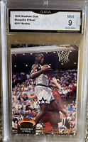 1992 Topps Stadium Club Shaquille O'Neal Rookie Shaq Mint 9 Lakers HOF RC