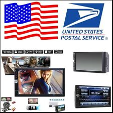 Car MP5/MP3 Player 2-Din 7 inch Bluetooth Stereo Radio+Rear Camera For USA Sock