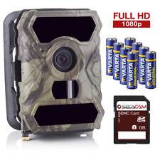 Wildkamera Überwachungskamera SecaCam HomeVista Full HD, Weitwinkel Premium Pack