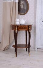 Teetisch Barock Beistelltisch Intarsien Konsolentisch Antik Telefontisch Konsole