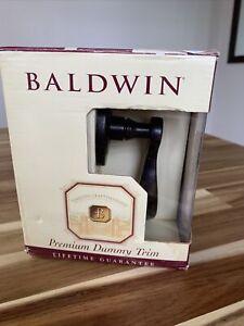 Baldwin Wave Lever Oil Rubbed  Bronze 95455.402.LDM Left Hand Half Dummy Knob