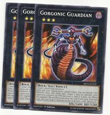 YUGIOH 3X  Gorgonic Guardian MP14-EN220  1ST Edition COMMON PLAYSET NEW!*