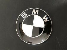 82mm BMW Schwarz Emblem Kofferraum Motorhaube Heckklappe