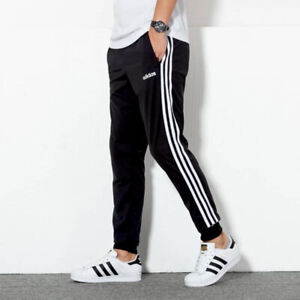 ⚫️ Adidas Essential Athletic 1 Men's Soccer Pants Fitted Casual Slim Fit Joggers