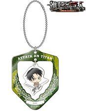 Attack On Titan Shingeki Kyojin Acrylic FuriFuri Ball Chain Charm Keychain Levi