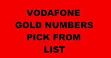 VODAFONE GOLD VIP BUSINESS NUMBER DIAMOND PLATINUM SIM CARD PICK FROM LIST