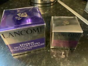 * Lancôme - 'Rénergie' Multi-Lift ULTRA Cream + Multi-Lift EYE Cream -Sealed/New