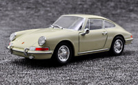 Welly 1:24 1964 Porsche 911 White Diecast Model Sports Racing Car New in Box