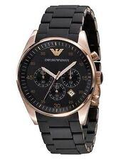 AR5905 Emporio Armani Mens  Watch Gold Classic  Chronograph Date