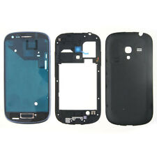 Full Housing Cover Case Replacement For Samsung Galaxy S3 S III Mini i8190 Blue