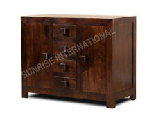 Handmade Wooden Sideboard cabinet for Modern Home (2 door, 4 drawers) !!