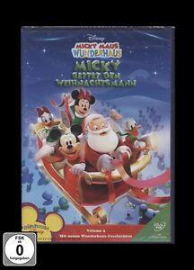 DVD MICKY MAUS WUNDERHAUS - MICKY RETTET DEN WEIHNACHTSMANN (Weihnachten) ** NEU