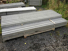 2.4m long slotted concrete fence posts for fence panels
