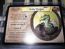 HARRY POTTER TRADING CARD GAME TCG BASIC BABY DRAGON 43/116 UNCO ENGLISH MINT