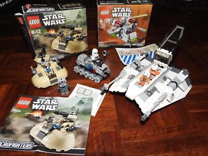 STAR WARS LEGO Collection- 4 models and 6 mini figs Great condition.