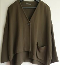 Stunning OSKA Wool Mix Asymmetric Jacket Size II
