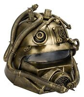 Steampunk Máscara Gashelm Firefighter Bomberos Casco Colores Bronce Nuevo