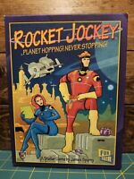 ROCKET JOCKEY Mayfair Board Game by James Spurny Space Fun Fair Planets Sci-Fi