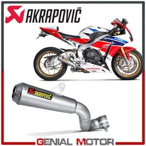 Tubo de Escape Titanio Akrapovic para Honda CBR 1000 RR ABS 2014  > 2016