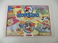 TOPOLINO SOSIA DI RE SORCIO - FUMETTO - WALT DISNEY - NUMERATO 1983 - L27