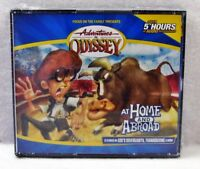 NEW At Home and Abroad Adventures in Odyssey Volume 12 Audio Unabridged CD