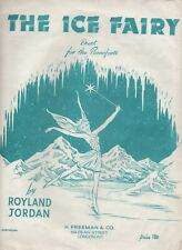 The Ice Fairy Sheet Music Duet For Piano Forte by Royland Jordan