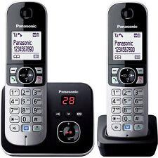 Panasonic KXTG6822ALB Dual Handsets Cordless Phone