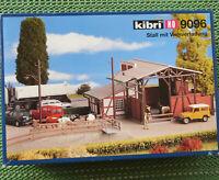 Kibri 9096 Stable avec Chargement Bovins 1:87 Ho Neuf en Emballage D'Origine