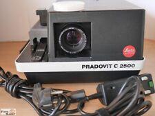 Leitz Dia Projector Pradovit C 2500 Lens Colorplan 2,5/90 MM Remote Control