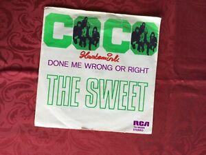 """7"""" Single - The Sweet - Co-Co - 1971 (A1)"""