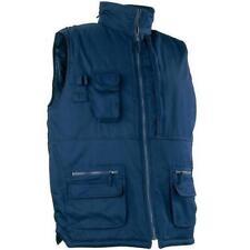 Manteaux et vestes bleu en polyester pour homme
