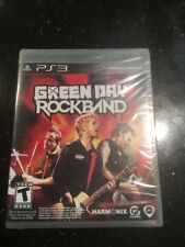 Green Day: Rock Band Playstation 3  Brand New Factory Sealed