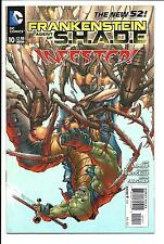 FRANKENSTEIN AGENT OF S.H.A.D.E. # 10 (DC COMICS, THE NEW 52! - AUG 2012), VF/NM