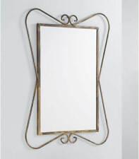 SMBYLL Specchio da Parete in Ferro Specchio da Sole Forma Decorativa Specchio da Parete Specchio Stereo 70 70cm Oro Specchio da Bagno Size : 70/×70cm