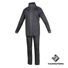 SET ANTIPIOGGIA TUTA IN NYLON ANTIVENTO SET DILUVIO EASY 566 TUCANO URBANO TG.M