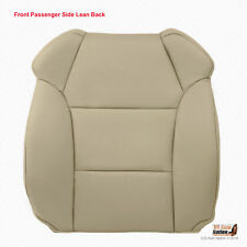 For 2007 2008 2009 Acura MDX PASSENGER Top Leather Replacement Cover Color Tan