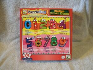 New 24 Piece Numbers Puzzle
