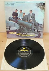 LP THE FOURMOST First and Fourmost (Parlophone 65 UK) 1st ps beat pop RARE VG+