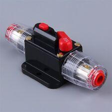 80 Amp In-Line Circuit Breaker Stereo/Audio/Car/RV 80A/80AMP Fuse 12V/24V/32V