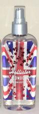 Hollister Co. Womens UK LONDON Limited Edition Body Mist Spray 8oz