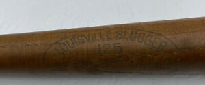 Vintage Ted Williams 16in Miniature Collectors Wooden Bat By Hillerick & Braosby