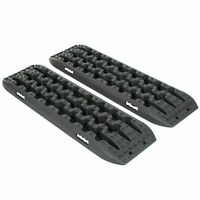 Recovery Tracks Sand Tracks Traction Snow Tire Off Road Ladder Black 4WD Pair