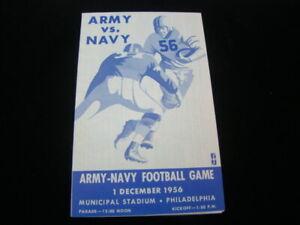 1956 Army-Navy Football Game Program
