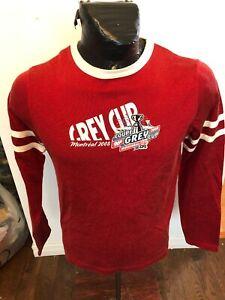 MENS Large Roger Edwards Football Long Sleeve Shirt CFL Grey Cup Montreal 2008