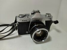 Vintage Kowa SET  35mm SLR Film Camera-Kowa 50mm f/1.8 Lens
