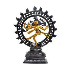 Natraj Statue God of Dance Brass Idol Siva SHIVA Hindu Temple Figurine New