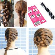 Hot French Roller With Magic hair Twist Styling Bun Maker Hair Braiding Tool TR9